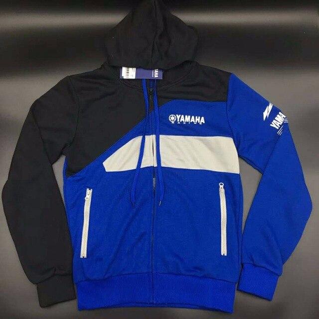 Moto Club Group ropa MOTO GP para Yamaha motocicleta Riding chaquetas  hombre Rossi racing Hoodies Zip 215612517430b