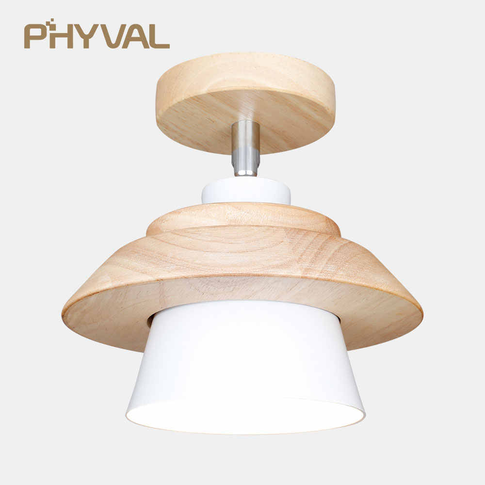 Led Ceiling Light Modern Simple Ceiling Lamps For Living Room Nordic Wood Ceiling Lights Beside Lamp For Bedroom Flying Saucer Ceiling Lights Aliexpress