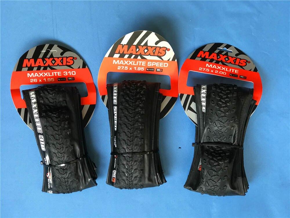 310G MAXXLITE 310 pneus pliable vtt pneu de vélo de montagne vtt pneu 26 27.5*1.95 2.0 vélo vélo pneu shiping libre