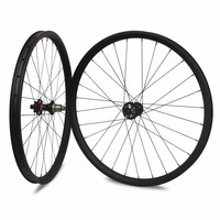 27.5er MTB Carbon Wheelset Hookless/Asymmetric Tubeless For DH/AM/XC/Enduro Mountain Bike 650B Wheelset 24/27/30/35/40mm Width