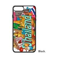 Land Stad Tailand China Canada Cuba Egypte Londen Brazilië Landschap Telefoon Case voor iPhone X 7/8 Plus Gevallen Phonecase Cover
