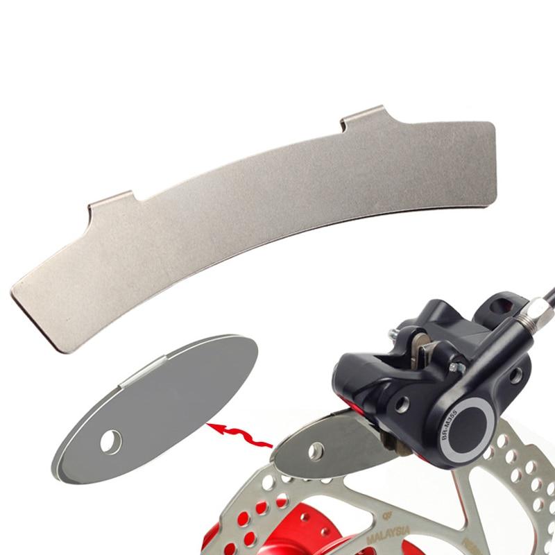 Stainless Steel Bicycle Disc Brake Pad Spacer Ultra Light Rotor Alignment Adjusting Tool Assistant MTB Road Bike Repair RR7256