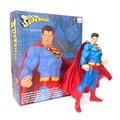 """Dc Comics Super man superhéroe Superman PVC De la buena calidad figura De acción De DC Collectibles juguete niños regalo 11 """" 27 CM envío gratis"""