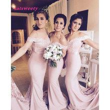 High Low Bridesmaid Dress Sweetheart Sheath Sexy Dresses With Lace Long robe demoiselle d'honneur turquoise sho-me