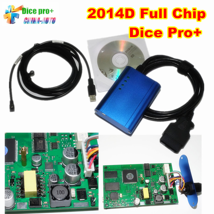 Super For Vo--l--vo VIDA DICE PRO+ Full Chip 2014D Fimware Update&Self-Test Vida Dice Diagnostic Too Vida Dice Green Board d vo