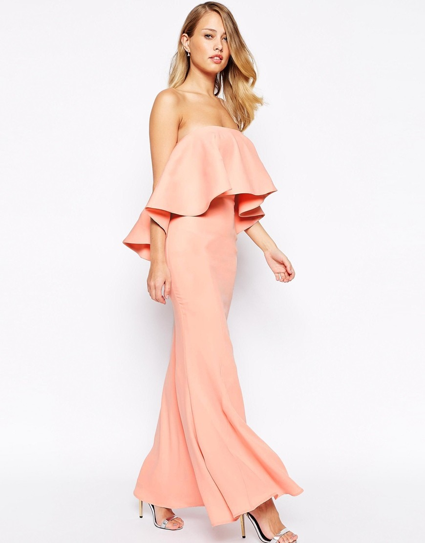 Coral long dresses for sale