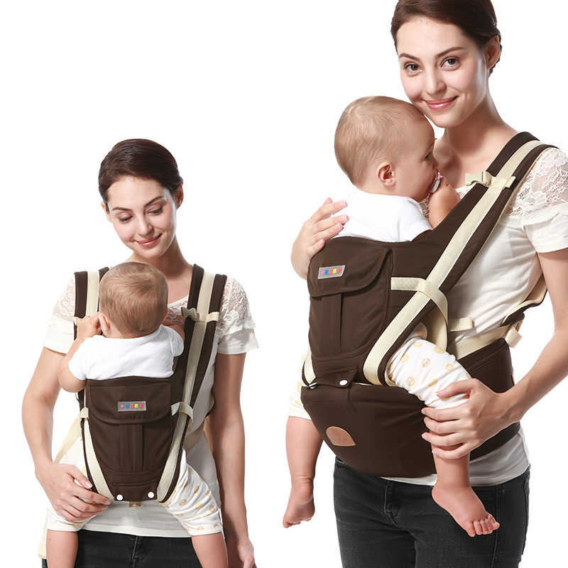 Ergonomische Baby Träger Rucksack Atmungs Bebe Kangaroo Hipseat Mochila Kleinkind Infant Sling Taille Hocker Abnehmbare