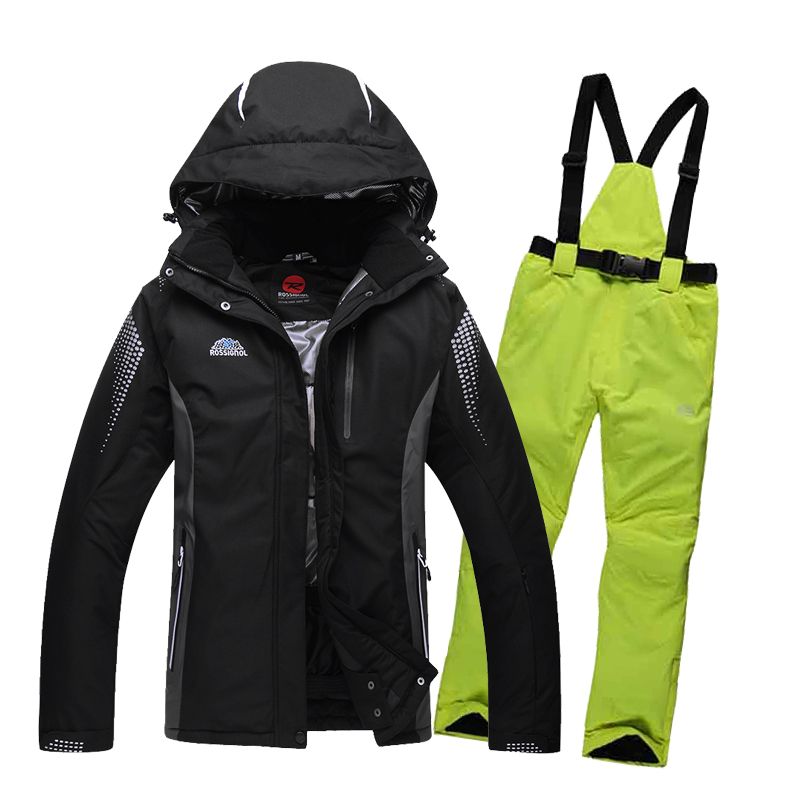 free shipping brand men's women Couple winter outdoor waterproof windrpoof ski suit set skiing snowboarding jacket and pants men brand gsou snow technology fabrics women ski suit snowboarding ski jacket women skiing jacket suit jaquetas feminina girls ski