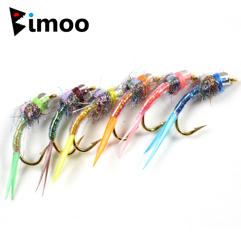 3,20 mm ICE FLIES Bead head for fly tying 20 pcs Glowing UV