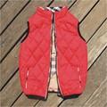 boys vest outerwear&coats big brand   boy girls children vest waistcoat  antumn/winter vest kids zipper plaid vest kid clothing