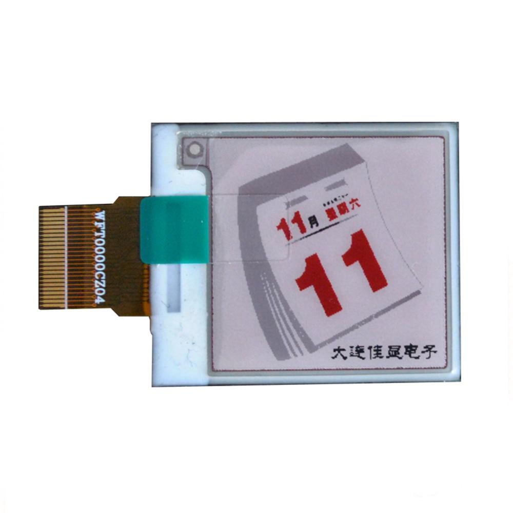 1.54 Inch HD 200*200 Red E-ink Screen E Ink Module 184 DPI Electric Paper Tag Screen SPI Eink GDEW0154Z04