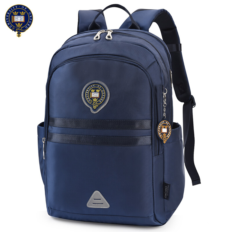 UNIVERSITY OF OXFORD Elementary middle CHILDREN Safety Casual School Bag Computer shoulder backpack portfolio for Boysclass