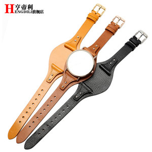 Image 5 - First layer calfskin strap for Fossil ES3616 ES3838 ES4114 womens series 18mm genuine leather watchband Quick release