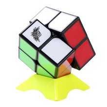Cyclone Boys Feizhi 2×2 Magic Cube Stickless Puzzle Speed Cube – Colorful