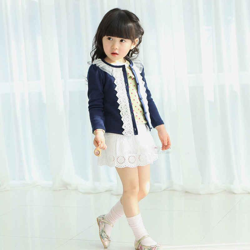 יפה תינוק פעוט תינוקות בנות פרווה צמר קרדיגן מעיל מעיל לסרוג סוודר להאריך ימים יותר חמוד בגדים