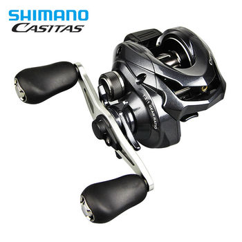 Original SHIMANO Casitas 150 150HG 151 Baitcasting Fishing Reel 6.3:1 Fishing Wheel Right Left Hand Baitcasting Fishing Reel
