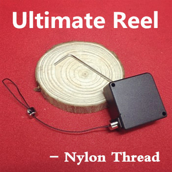 Ultimate Reel (Nylon Thread/Steel Wire Available) Magic Tricks Fun Stage Street Magic Accessories Gimmick Object Vanising Device