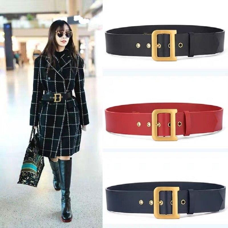 2019 New Women's Simple, Stylish Leather Outfit Dress, Windbreaker   Belt