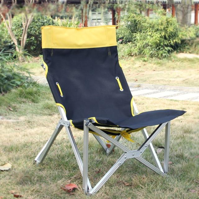 Ultra Light Aluminum Outdoor Folding Chair Fishing Chair Portable
