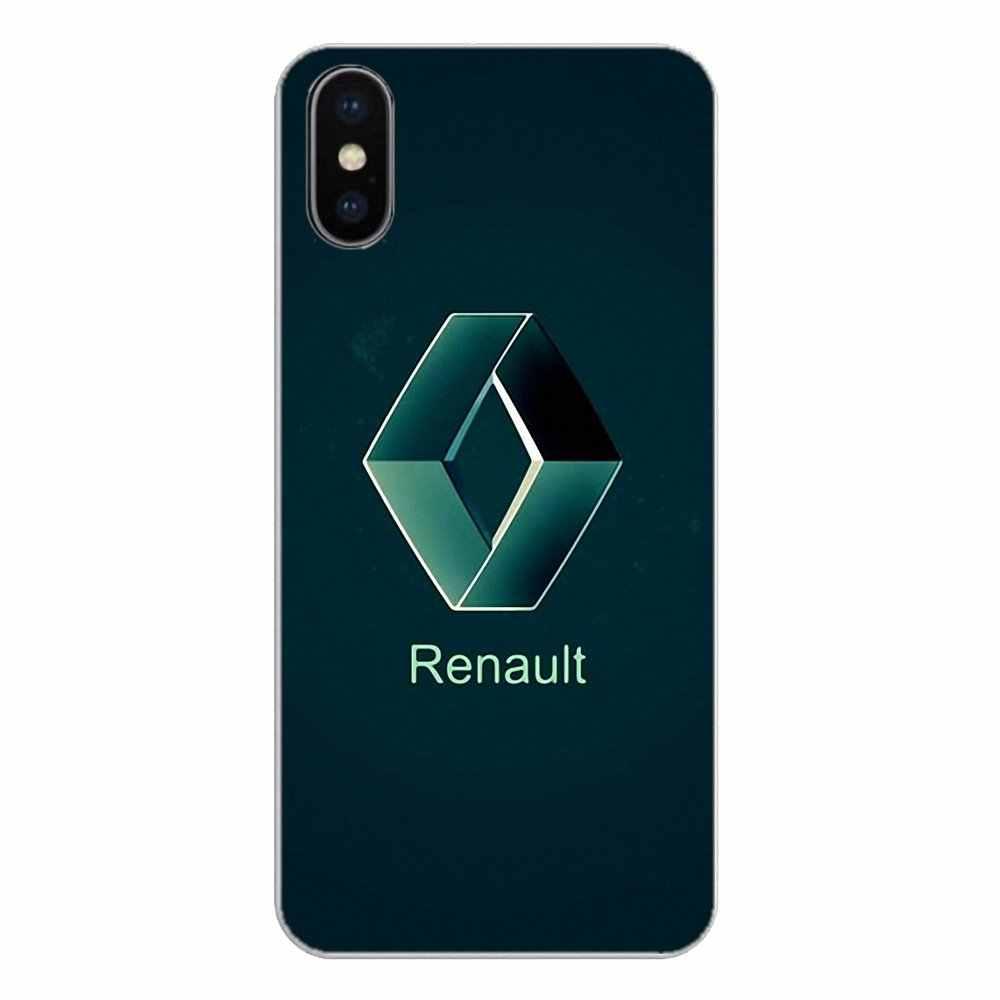 רנו SA הרפובליקה הצרפתית רכב לוגו עבור Apple iPhone 4 4S 5 5S 5C SE 6 6 S 7 8 X XR XS בתוספת מקס סיליקון טלפון מעטפת כיסוי