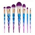 7 unids/set Maquillaje Profesional Cepillo Conjunto de Sombras de Ojos Eyeliner Powder Brush Herramientas Multi-función de Herramienta de Pinceles de Maquillaje Cosmético