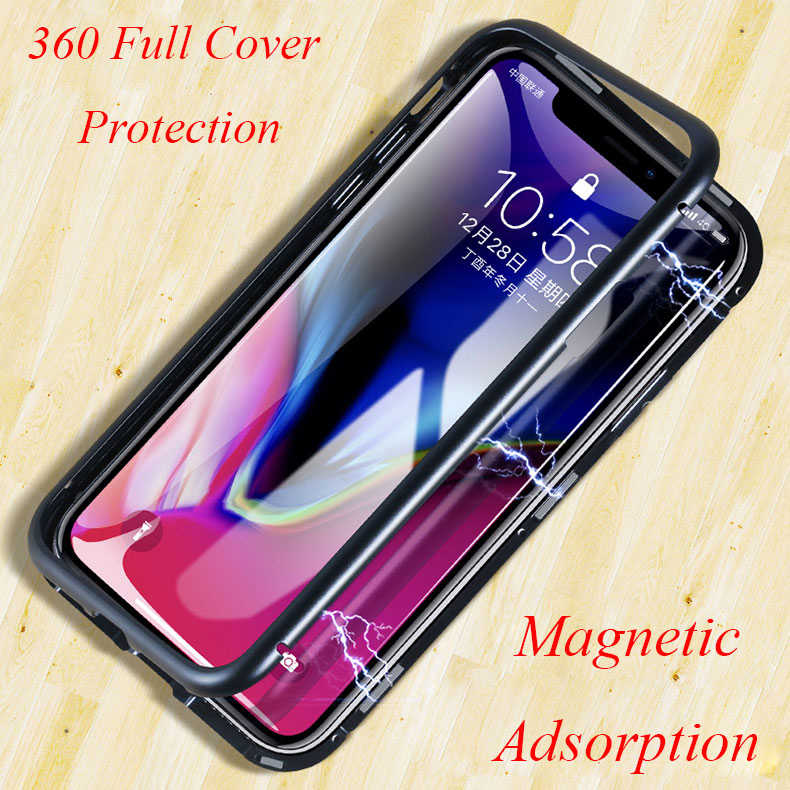 Magnetic Adsorption Case for Huawei P20 Pro Mate 10 Pro