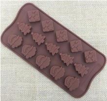 עץ חג מולד שוקולד מסיבת DIY יצק אפיית בישול כלים לקשט עוגת סיליקון תבניות 20% off