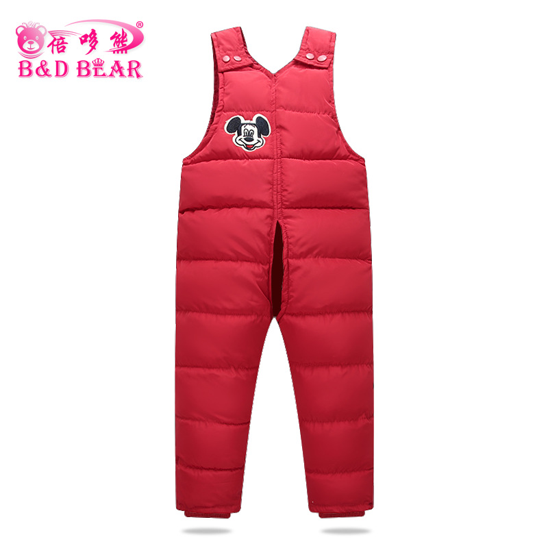 9ecb7d01766f 1-6 T Children S cotton-padded clothes Pants Baby Boys Outside ...