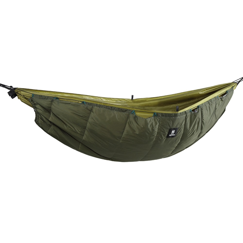OneTigris Winter Hammock Under-quilt Lightweight Full Length Hammock Underquilt Under Blanket -5 C To 5 C(23 F To 41 F)