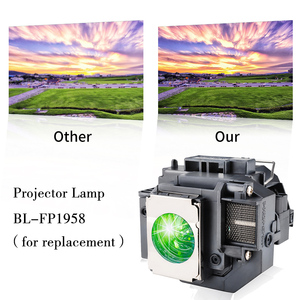 Image 3 - Happybate ELPLP58/ V13H010L58 Projector Lamp for PowerLite X9 PowerLite S9 S10+ PowerLite 1260  H391A H376B H375A H375B H374B