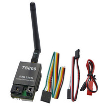 FPV 5.8G 1.5W 32CH A/V Transmitting (TX) Module Wireless Transmitter TS800 Support AAT Tracking Antenna 1500mw