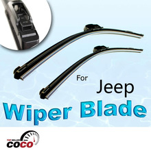 2PCS 19″+19″ OEM AERO Car Accessories type wiper arms BRACKETLESS WINDSHIELD WIPER BLADES WIPERS For JEEP LIBERTY 2002-2011