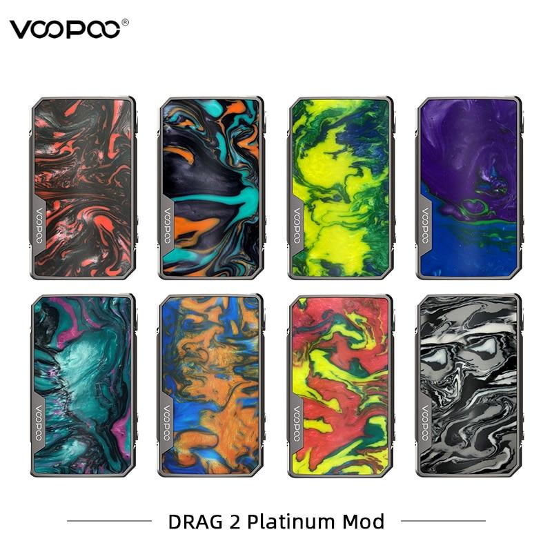 Voopoo glisser 2 Mod Version platine Cigarette électronique Mod 177 w double batterie vaporisateur panneau de résine VS VGOD SMOK Vaporesso Mod