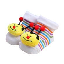 Newborn Baby Girls Boys Anti-Slip Slipper Socks Shoes