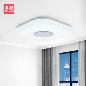 Image 3 - מודרני אינטליגנטי LED תקרת מנורת RGB dimmable APP שלט Bluetooth רמקול סלון חדר שינה 90 260v תקרה אור