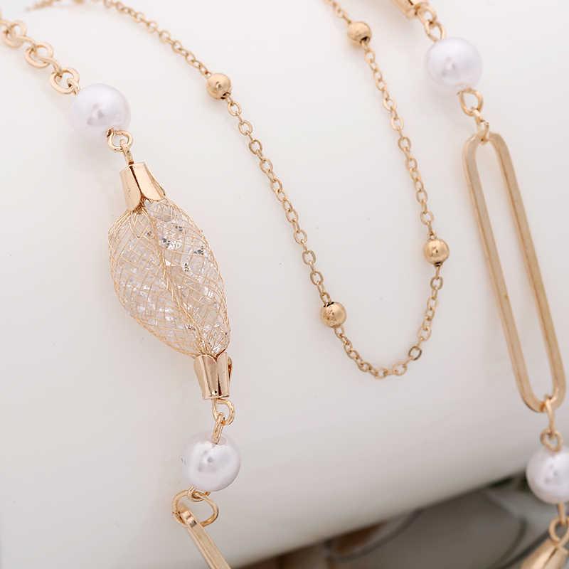 Guvivi Schmuck Sets Afrikanischen Braut Gold Farbe Halskette Ohrringe Hochzeit Kristall Set für Frauen Mode Kostüm Schmuck Set