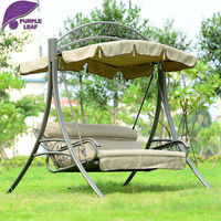 Patio Swing Lawson Ridge 3 Person Swing Hammock Outsunny Covered Outdoor Porch Swing Bed With Frame