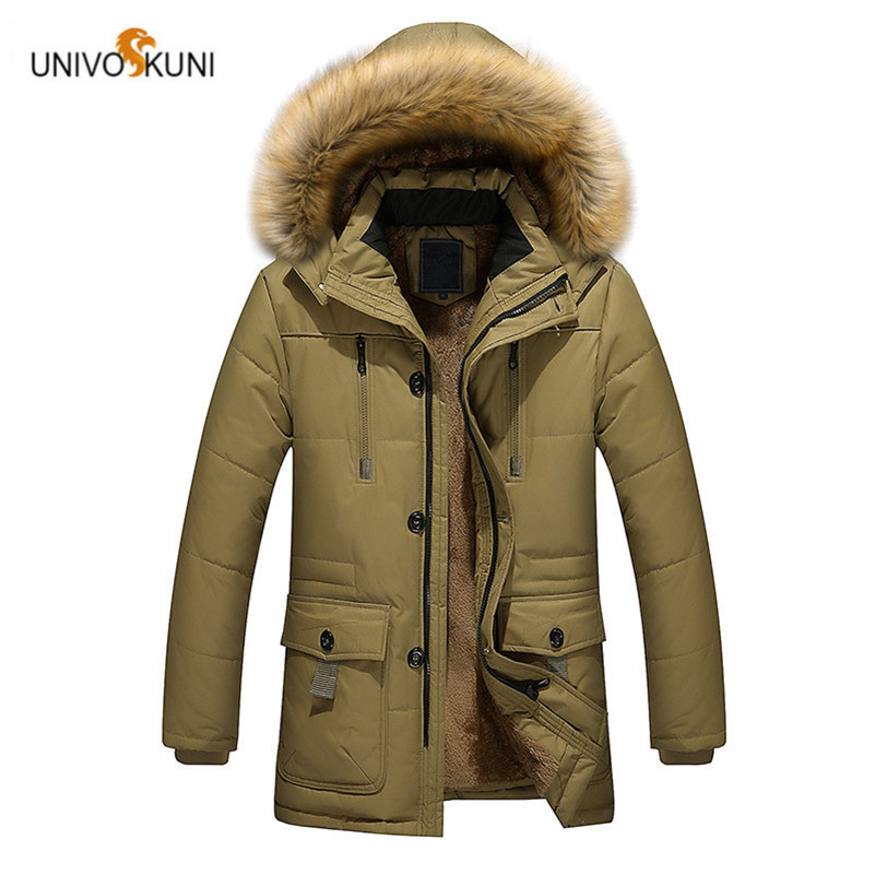 UNIVOS KUNI 2017 Winter Men's In The Long Section Of Cotton Jacket Europe And The United States Men Loose Jacket Large Size O154 purnima sareen sundeep kumar and rakesh singh molecular and pathological characterization of slow rusting in wheat