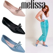 Melissa JW 2019 New Women Flat Sandals Brand Jelly Shoes For Solid Female zapatos de mujer