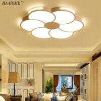 Светодиодный потолочный светильник для Гостиная современные лампы Панель светильник Спальня Кухня зал поверхностного монтажа флеш дистан