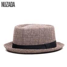 Brands NUZADA England Retro Men Couple Women Fedoras Top Jazz Hat Spring Summer Autumn Bowler Hats Cap Classic Version