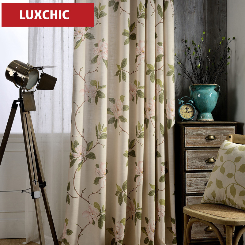Blackout font b Curtains b font for the Bedroom Faux Linen Modern font b Curtains b