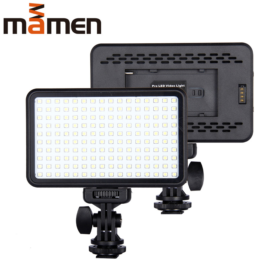 192 LED 12W Studio Video Pographic Lighting Continuous Highlight Lamp Pography Fill Light for Camera DV Camcorder Victoria-ACX