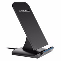 5V 2A QI Fast Wireless Charger For Samsung Galaxy S8 S7 S6 Edge All Qi Enabled