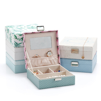 High Quality Jewelry Gift Box Ring Earring Case Jewelry Storage Box Bracelet Holder Necklace Pendants Display