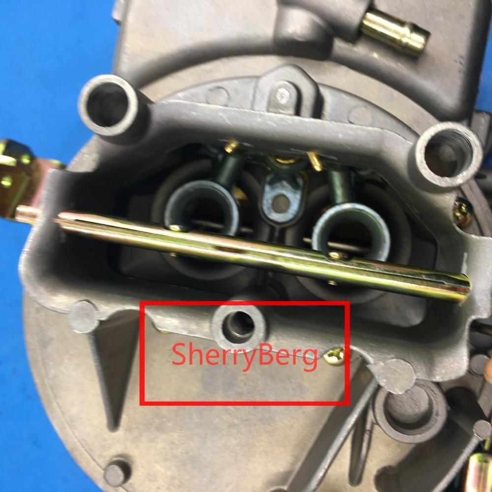 R$ 578 78  Novo carb substituição para MotorCraft 2100/2150 apto para  Jeep/AMC/Eagle/Pacer Carb Carb Atualizar 258/4  2 1 08 Venturis em Válvulas  &