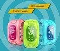 High-tech Y3 Criança Pulseira Relógio Inteligente GPS Rastreamento SOS Ajuda do Dispositivo de Segurança para Crianças dos miúdos Relógio Inteligente