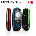 Mini Original RUIZU X06 Bluetooth MP3 Player 8 GB Esporte MP3 Ecrã do Leitor de música 100 Horas Alta Qualidade Lossless Gravador FM Ebook