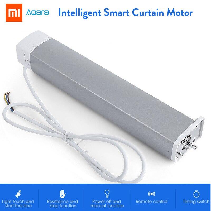 Xiaomi Aqara Intelligent Smart Curtain Motor ZiGBee Version Wifi Smart Home Device Mi Home Smarphone APP Remote Control цены