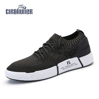 CIROHUNER Mens Shoes Summer Design Sneakers For Men Outdoor Lace Up Shoes Men Breathable Men S